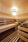 Sauna classic wooden Stock Photography
