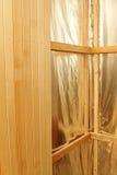 Sauna construction Stock Image