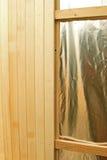 Sauna construction Stock Photos