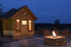 Sauna d'hôtel photos libres de droits
