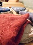 Sauna de las toallas n Imagen de archivo