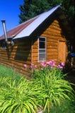 Sauna de région sauvage Photographie stock