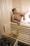 Sauna del balneario Fotografía de archivo libre de regalías