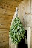Sauna della Finlandia Fotografie Stock