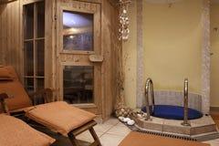 Sauna di Wellness Immagine Stock Libera da Diritti