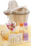 A sauna dos termas relaxa Imagens de Stock Royalty Free