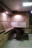 Sauna dressing-room Royalty Free Stock Photos