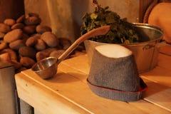 Sauna en pueblo Fotografía de archivo libre de regalías