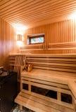Sauna finlandais images stock