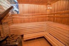Sauna finlandais Images libres de droits