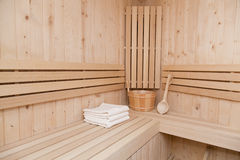 Sauna finlandais Photo stock