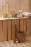 Sauna finlandesa Imágenes de archivo libres de regalías
