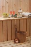 Sauna finlandese Immagini Stock Libere da Diritti