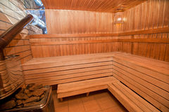 sauna finnish Obrazy Royalty Free