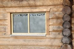 Sauna is healthy. / Finnish Sauna with hot dry steam Stock Photo