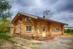 Sauna is healthy. / Finnish Sauna with hot dry steam Stock Photos
