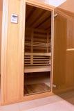 Sauna infrarouge Photographie stock