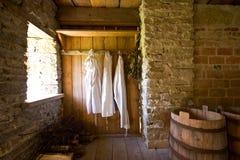 Sauna interior Royalty Free Stock Photos