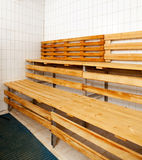 Sauna Interior Stock Photo