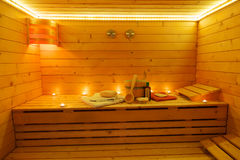 Free Sauna Interior Stock Photography - 49047822