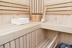 Sauna, kuuroord en wellness Royalty-vrije Stock Fotografie