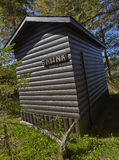 Sauna log cabin Royalty Free Stock Images