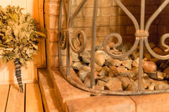 Sauna oven Stock Image