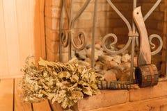 Sauna oven Stock Photography