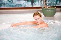 Sauna pleasures Royalty Free Stock Image
