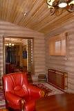 Sauna restroom interior fragment. Center of rest Stock Photo