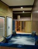 Sauna room Royalty Free Stock Photos