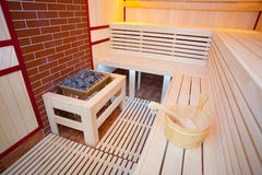 Sauna room Royalty Free Stock Photos