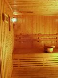 Sauna room Royalty Free Stock Image