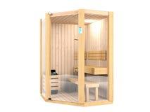 Sauna room Stock Images