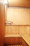 Sauna room Stock Photo