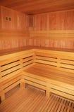 Sauna room Royalty Free Stock Image