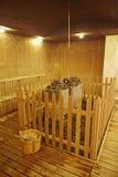 Sauna room Stock Photos