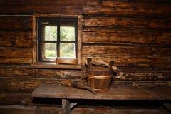 Sauna rurale Fotografia Stock Libera da Diritti