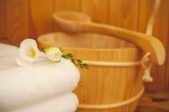 Sauna Image stock