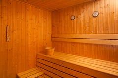 Sauna seca de Finlandia Foto de archivo