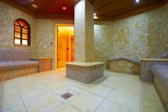 sauna steamroom tepidarium Στοκ φωτογραφία με δικαίωμα ελεύθερης χρήσης