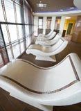 Sauna stone beds royalty free stock photos