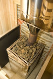 Sauna stove Royalty Free Stock Photo