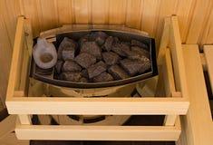 Sauna stove Royalty Free Stock Images