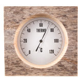 Sauna thermometer Royalty Free Stock Photography