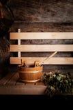 Sauna time Stock Image