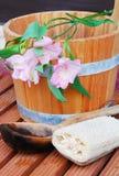 sauna toujours de durée Images libres de droits