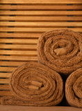 Sauna towels Stock Photography