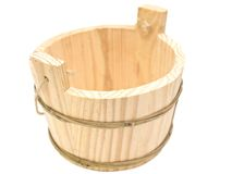 Sauna vat Stock Image