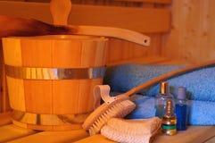 Saunaequipment Stock Image